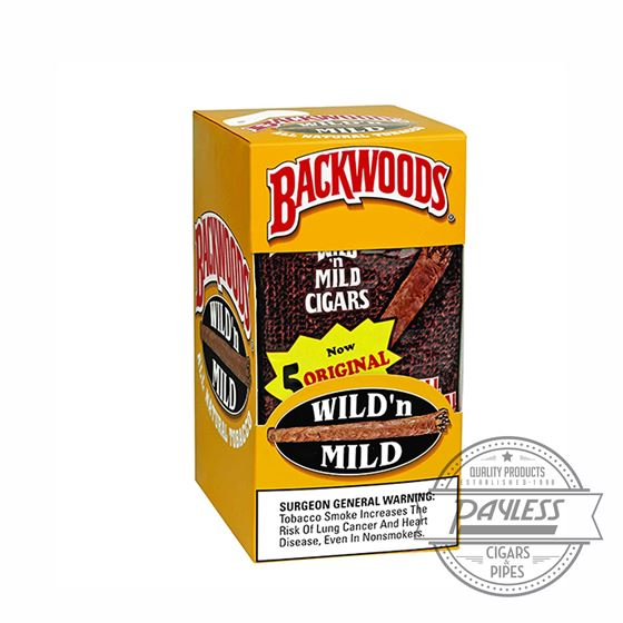 Backwoods Original 8 packs of 5