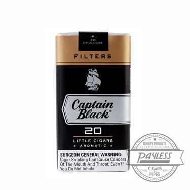 Captain Black Little Cigar Filters 10 packs of 20