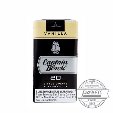 Captain Black Little Cigar Filters Madagascar Vanilla