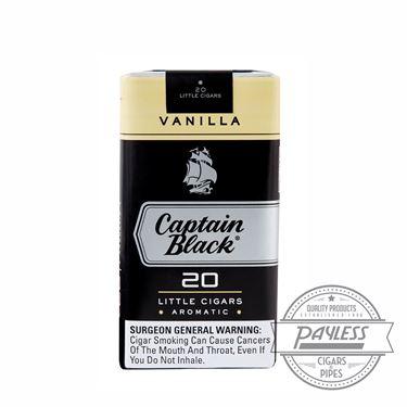 Captain Black Little Cigar Filters Madagascar Vanilla