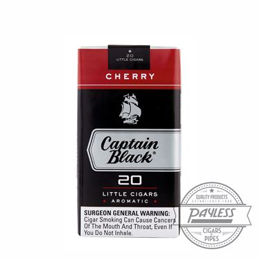Captain Black Little Cigar Filters Sweets Cherry 10 packs of 20