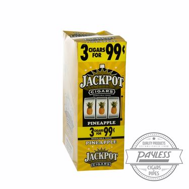 Jackpot Cigarillos Pineapple 15 packs of 3