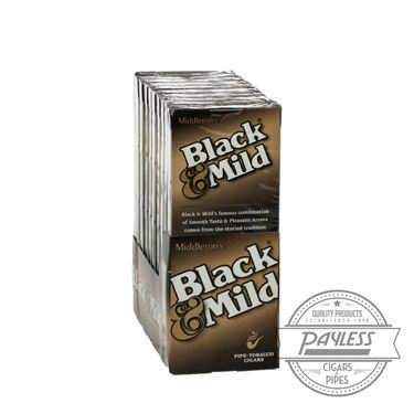 Middleton Black & Mild 10 packs of 5