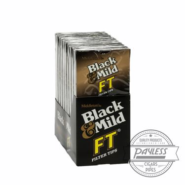 Middleton Black & Mild FT Filter Tip 10 packs of 5