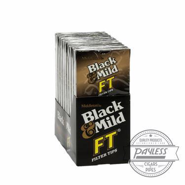 Middleton Black & Mild FT Filter Tip 10 packs of 5