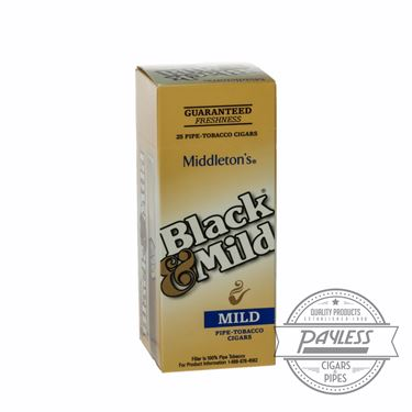 Middleton Black & Mild Mild Box