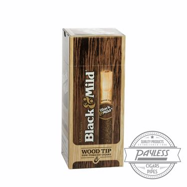 Middleton Black & Mild Wood Tip Box