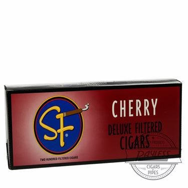 SF Little Filtered Cigars Cherry 10 packs of 20