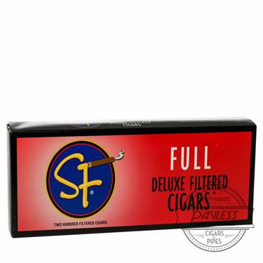 SF Little Filtered Cigars Full 10 packs of 20
