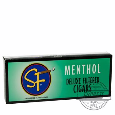 SF Little Filtered Cigars Menthol 10 packs of 20