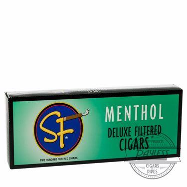 SF Little Filtered Cigars Menthol 10 packs of 20