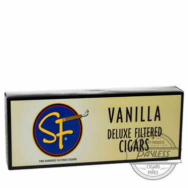 SF Little Filtered Cigars Vanilla 10 packs of 20