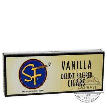 SF Little Filtered Cigars Vanilla 10 packs of 20