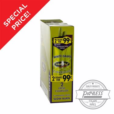 White Owl Cigarillos White Grape On Sale