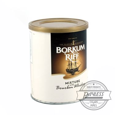 Borkum Riff Bourbon Whiskey 7 ounce Tin