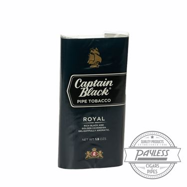 Captain Black Royal 1.5 ounce Pouches