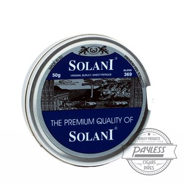 Solani Blue Label Tin