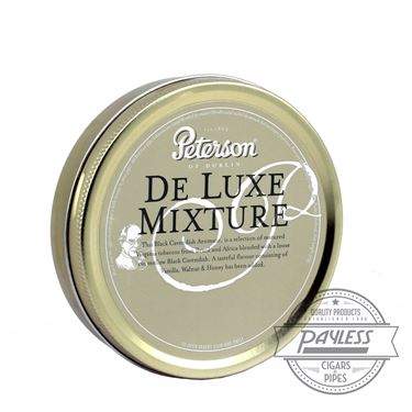 Peterson De Luxe Mixture Tin