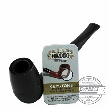 Eriksen Keystone Pipe Black