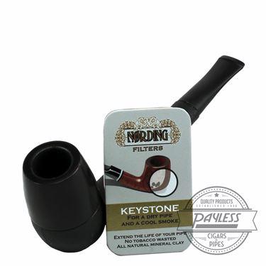 Eriksen Keystone Pipe Black