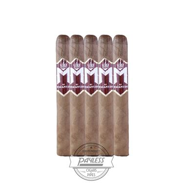 M Bourbon by Macanudo Robusto 5-pack