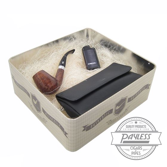 Chacom Set (Pipe, Pouch, and Lighter)