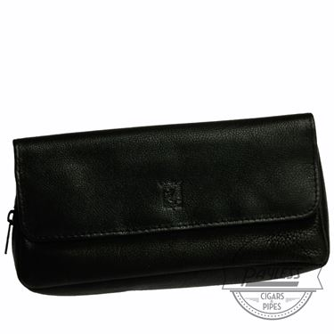 Chacom Leather Combo Pouch Black - 3N