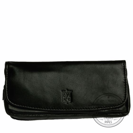 Chacom Leather Combo Pouch Black - 6N
