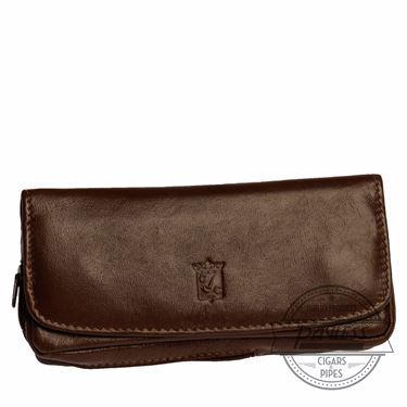 Chacom Leather Combo Pouch Havana - 6H
