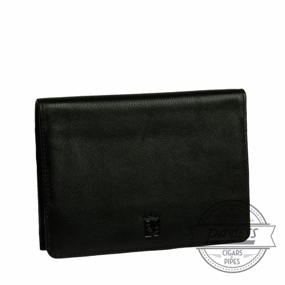 Chacom Leather Fold Pouch Black - 1N