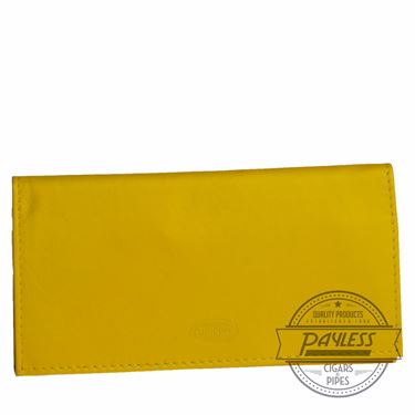 Chacom Leather Rollup Pouch Yellow - 11Y