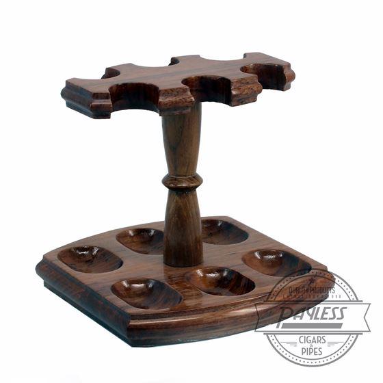 Woodmere 6 Pipe Rack Teak (213T)
