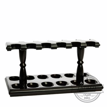 Woodmere 12 Rack Pipe Stand (Walnut 220W)