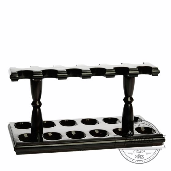 Woodmere 12 Rack Pipe Stand (Walnut 220W)