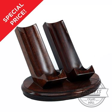 Woodmere 2 Pipe Rest Walnut Ebony (205W) On Sale