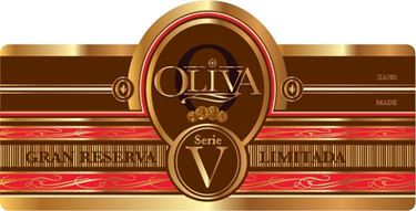 Oliva Serie V Melanio Maduro Figurado Label