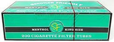 SF King Size Green Menthol Tubes (200-Pk)