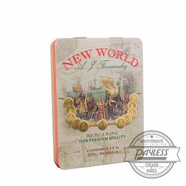 New World Tin Single Tin