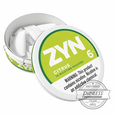 Zyn Citrus 6mg (5 cans)