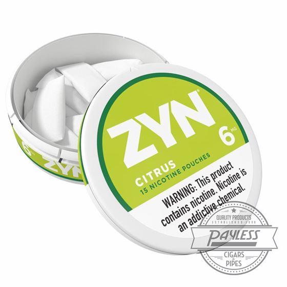 Zyn Citrus 6mg (5 cans)