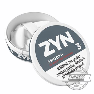 Zyn Smooth 3mg (5 cans)