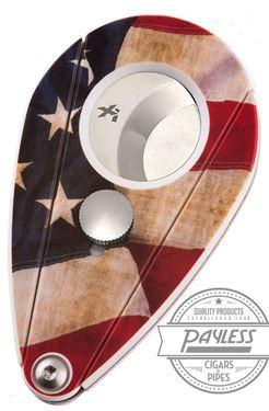 Xikar XI2 Cutter - White American Flag (201USA)