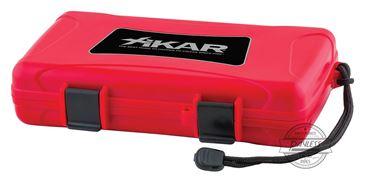 Xikar Travel Humidor 5-Ct - Red (205RDXI)