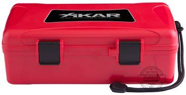 Xikar Travel Humidor 10-Ct - Red (210RDXI)