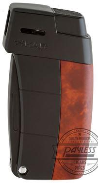 Xikar Resource II Lighter - Ambonia Burl (585ABBK)