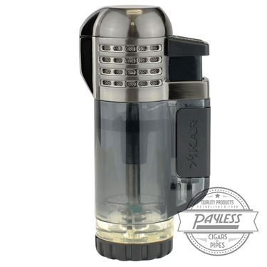 Xikar Tech Quad Lighter - Black (528BK)