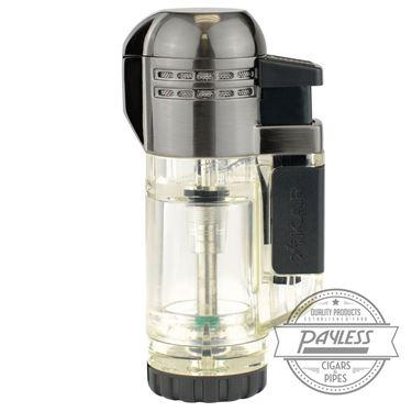 Xikar Tech Double Lighter - Clear (526CL)