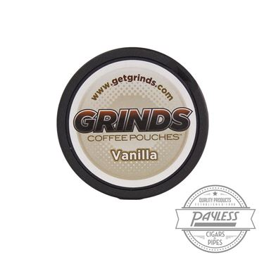 Grinds Coffee Pouches Vanilla (5 Cans)