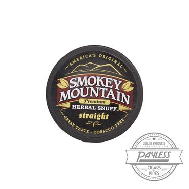 Smokey Mountain Straight Snuff (5 Cans)