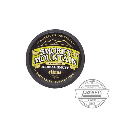 Smokey Mountain Citrus Snuff (5 Cans)
